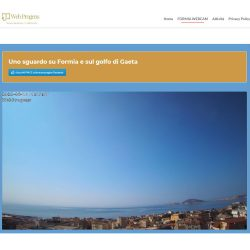 webcam formia golfo di gaeta webprogens associazione culturale